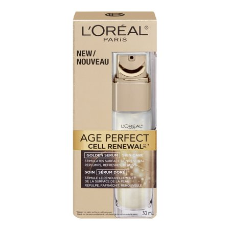 Omorovicza Radiance Renewal Serum - L'Oréal Paris Age Perfect Cell Renewal Golden Serum Treatment, 1 fl. oz., Restore Resilience, Radiance, Vitality By LOreal Paris