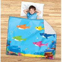 Deals on Baby Shark Kids 2-in-1 Cozy Cover and Slumber Bag