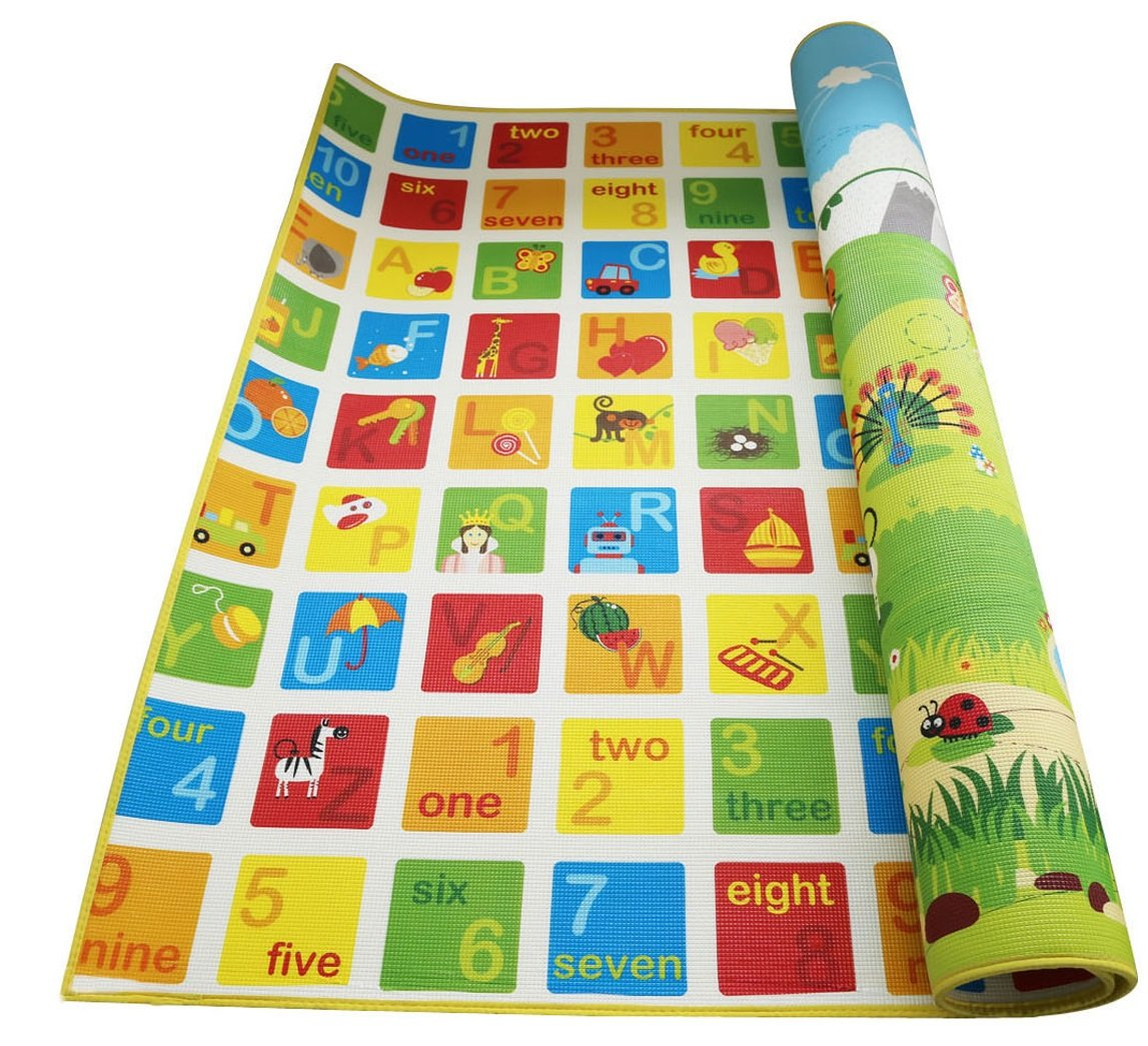 Hape Baby Play Mat for Floor, 70 x 59 Inches | Reversible...