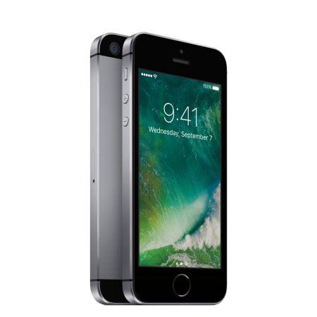 Walmart Family Mobile Prepaid Apple iPhone SE 32GB, Space ...
