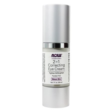 NOW Foods - 2 in 1 Correcting Eye Cream For Mature Skin - 1 oz. (Correct Eye)