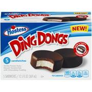 HOSTESS DING DONGS Frozen Dairy Dessert Sandwiches 5 ct Box