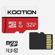 Cyber Monday Price! KOOTION 32GB Micro SDHC UHS-I Memory Card Class 10 Micro SD Card High Speed TF Card, C10, U1, 32G