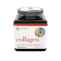 Youtheory - Collagen Skin, Hair & Nail Formula 6000 mg. - 160 Tablets