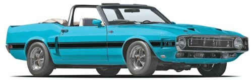 69 Shelby GT500 Convertible Plastic Model Kit, This kit has plenty of detail for the... by