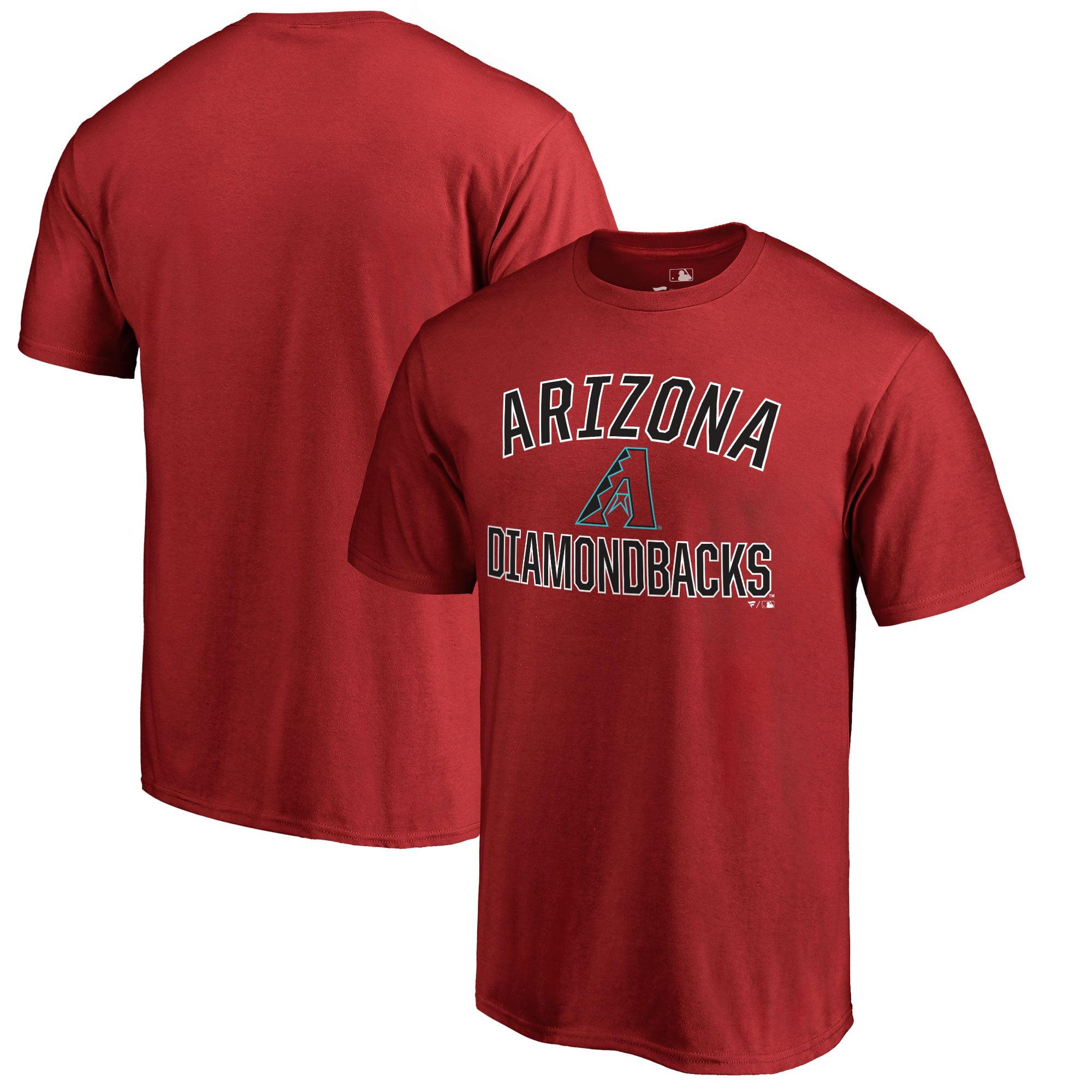 Arizona Diamondbacks Victory Arch Big & Tall T-Shirt - Red