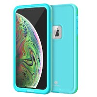 iPhone Xs Max Waterproof Case, CaseTech LRE Series, Shockproof Underwater IP68 Certified Case, with Built-in Screen Protector Full Body Rugged Protective Cover, 2018 released 6.5 inch