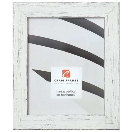 Craig Frames Jasper, Country Marshmallow White Picture Frame, 20 x 20 Inch