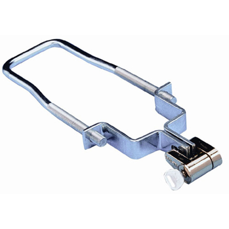 Fulton ETCHL 0700 Spare Trailer Tire Carrier with Bracket & HLO Lock (Tacoma Spare Tire Lock)