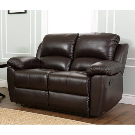 Marvelous Abbyson Western Top Grain Leather Reclining Loveseat Brown Pdpeps Interior Chair Design Pdpepsorg