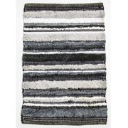 CLM Bossa Nova Hand Woven Cotton Gray Area Rug