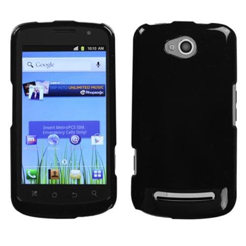 Insten Solid Black Phone Case for COOLPAD: 5860E (Quattro 4G)