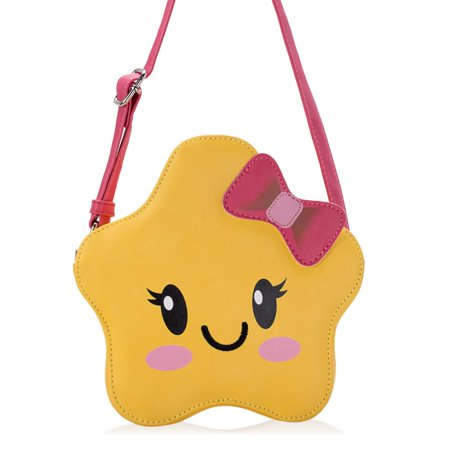 Ava   Kings Little Girl PU Faux Leather Purse Cute Animal Face Designs - High  Quality Messenger Crossbody or Shoulder Bag for Kids, Teens, ... 6659a8ce14