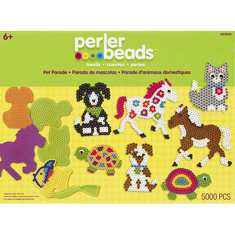 Perler Bead Pet Parade Box Kit