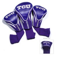 Team Golf NCAA TCU Horned Frogs 3 Pack Contour Head Covers