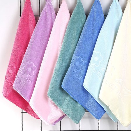 3PCS Random Color Microfiber Cleaning Cloth Thicken Soft Towel Bowl/Cup/Pot Clean Cloth Bathroom Kitchen Accessories - image 7 of 8