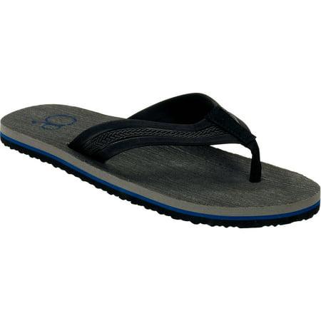 6160e27c382 OP - OP Men s Solid Beach Flip Flop Sandal - Walmart.com