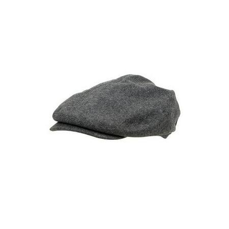 Classic Wool Ivy Cap - Wool Blend Ivy Cap, Charcoal