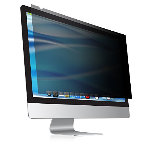 "24 Inch computer privacy screen & anti glare protector Fits 24"" Screens as Desktop Computer Monitors, Mac, Mackbooks and Laptop Screens This anti spy privacy filter Your Screen, Your Eyes Your Privacy"