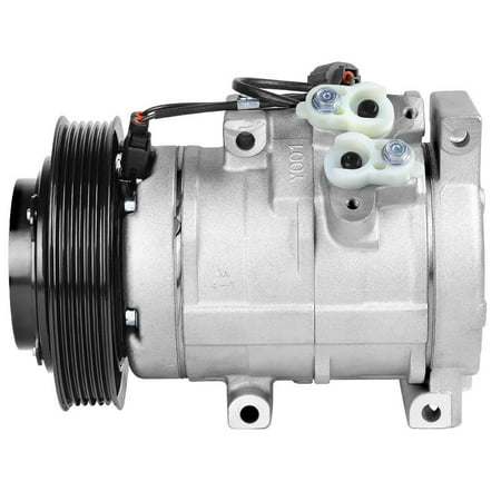 A/C Compressor and Clutch for Acura TL V6 2004-2008 Honda Accord V6 (03 Acura Tl Type S 0 60)