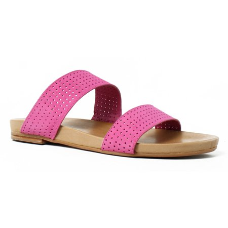 Johnston & Murphy Womens Jodi Azalea Slides Size 7.5