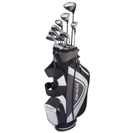 Top Flite XL 13-Piece Complete Golf Set (Graphite) RH Black/Grey New 2018