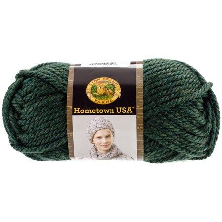 Lion Brand Yarn Hometown Usa Vermont Green 135 177 Classic Bulky Yarn