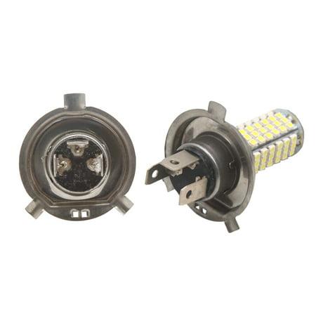 H4 Blanc 102 LED cms 1210-Phare antiBrume Lampe Phare 12V Voiture - image 2 de 3