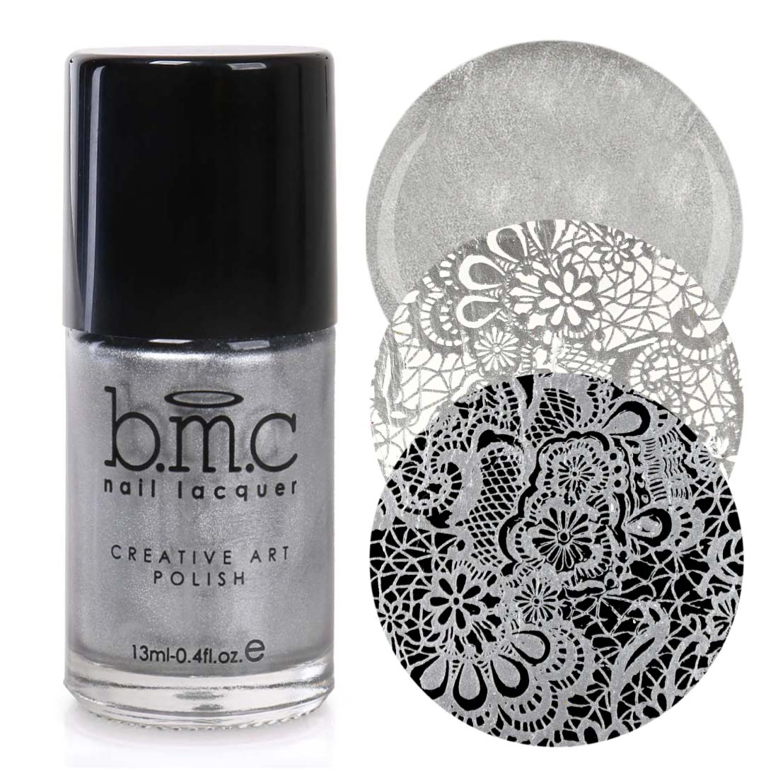 BMC 2nd Generation Creative Nail Art Stamping Polishes - Essentials: Primary