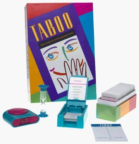 Milton Bradley Taboo the Game of Unspeakable Fun (1989 Edition) by Milton Bradley by