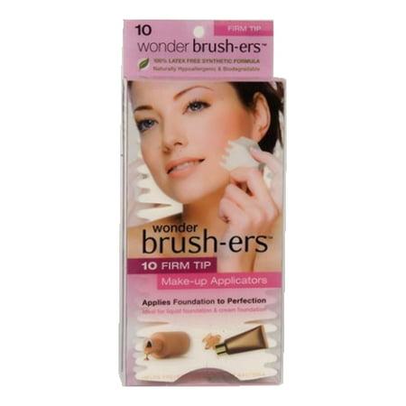 (6 Pack) Wonder Brush-ers Make-up Applicators - 10 Firm Tip - - Halloween Makeup Tips Fairy