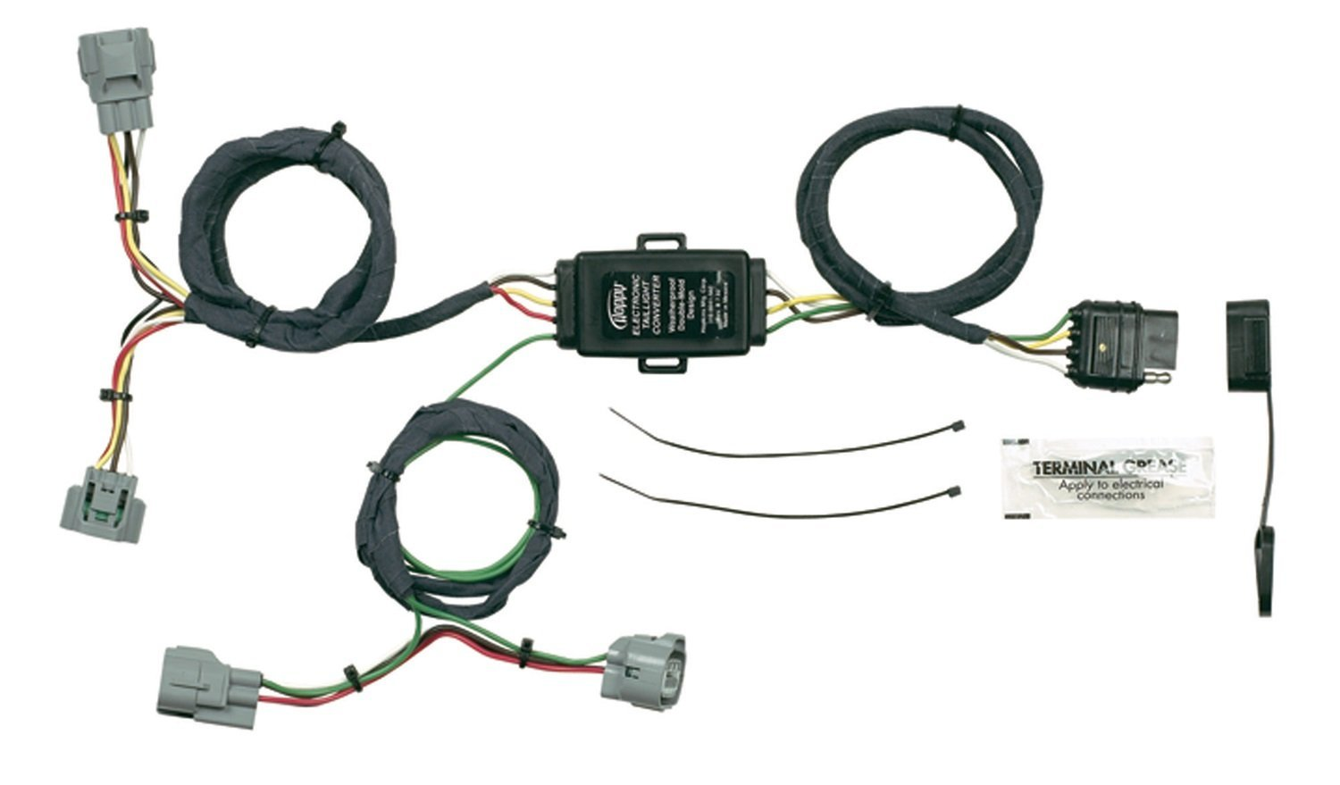Hopkins Vehicle Wiring Kit 4 To 7 Connector Solutions Way Trailer Harness Diagram Toyota Tacoma Search