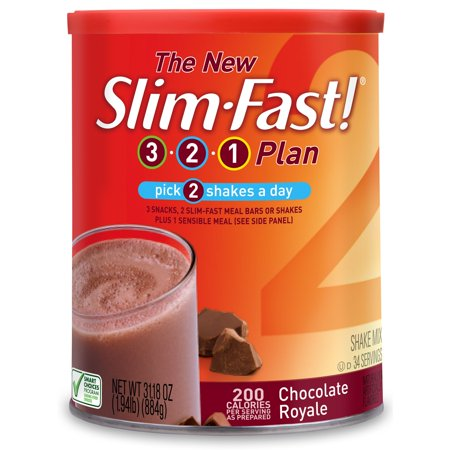 SlimFast® Original Rich Chocolate Royale Meal Replacement Shake Mix 31.18 oz. Canister