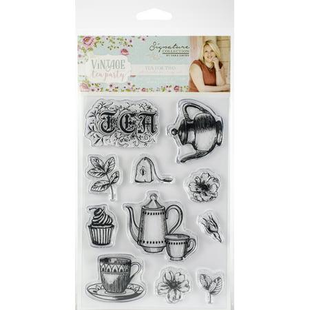 Vintage Tea Party (Vintage Tea Party Clear Stamps-Tea For)