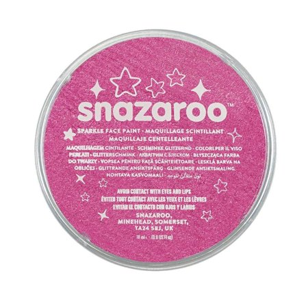 Snazaroo Sparkle Face Paint. 18ml. Sparkle Pink](Snazaroo Face Paint Halloween)
