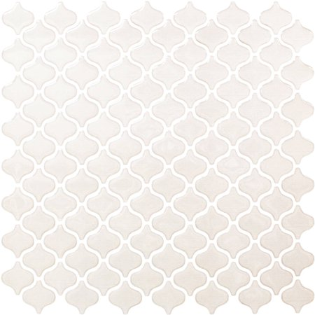 BeausTile Decorative Adhesive Faux Tile Sheets, 12.2