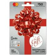 Vanilla Mastercard Party Bow $50