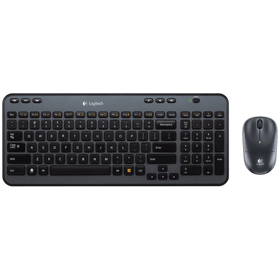 Logitech Wireless Keyboard and Mouse Combo MK360 by Logitech