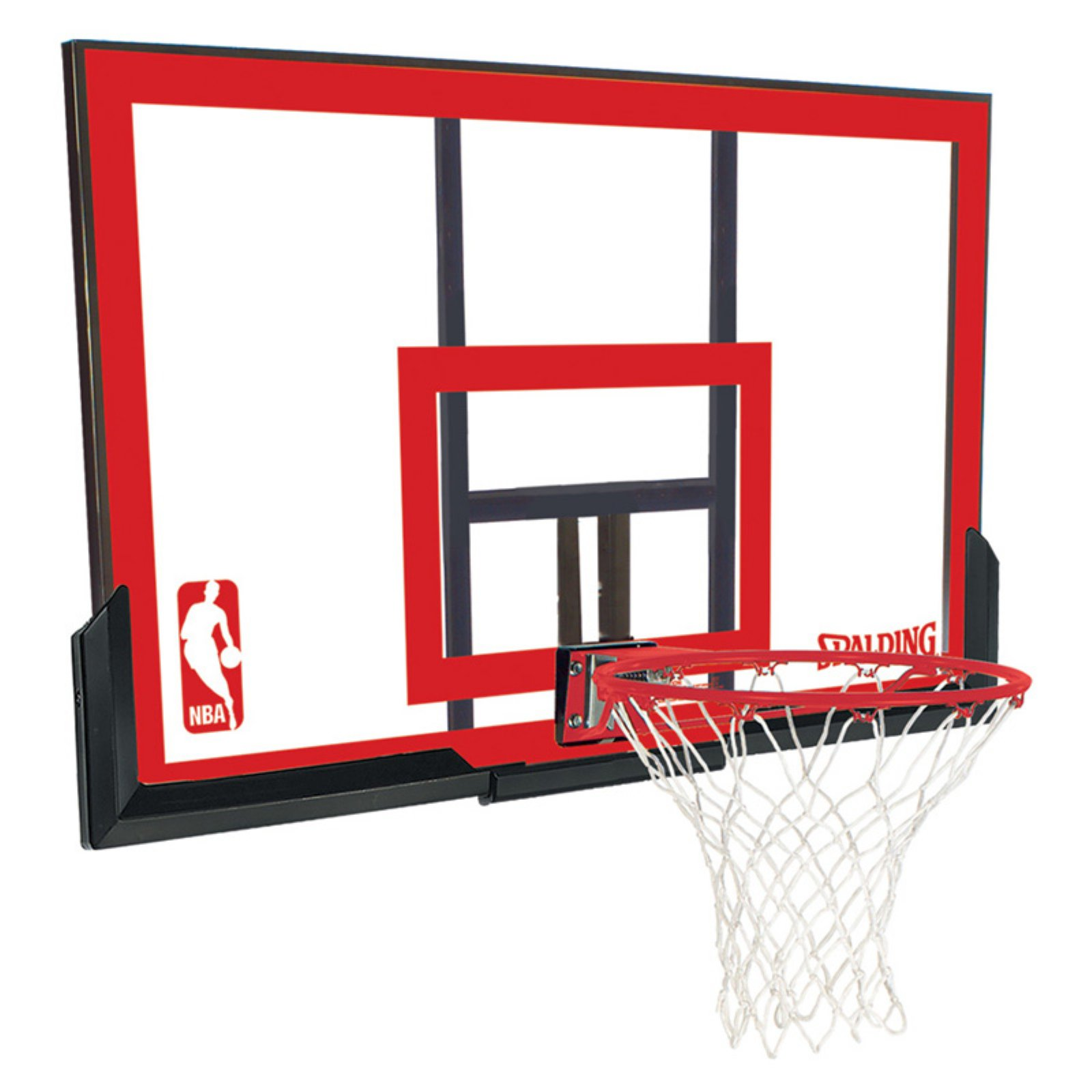 Spalding 48 Polycarbonite Basketball Backboard And Rim Combo Com