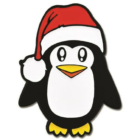 Pengin Christmas X-Mas Animal Santa Hat Enamel Lapel -
