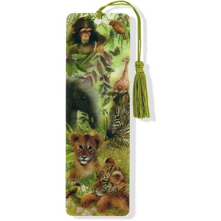 Safari Babies 3D Bookmark
