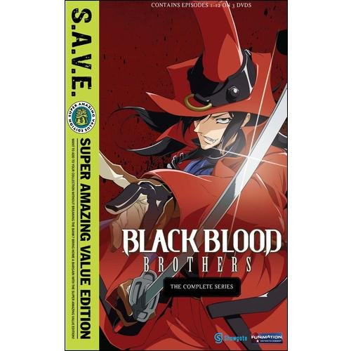Black Blood Brothers: The Complete Series (S.A.V.E.) (Japanese)
