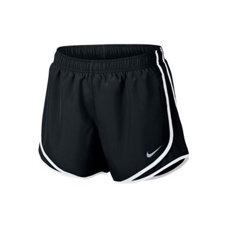 Nike Women's 3'' Dry Tempo Core Running Shorts - Black/Blk/White/Wolf Grey - Size M