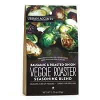 Urban Accents Veggie Roaster Seasoning , Balsamic and Roasted Onion, 1.25 Oz