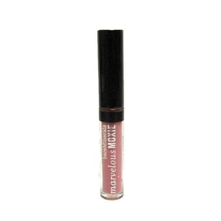 BareMinerals Mini Marvelous Moxie Brilliant Lipgloss - Rebel 0.8ml/0.02 fl oz. Travel size Bare Escentuals Mini Lip Gloss