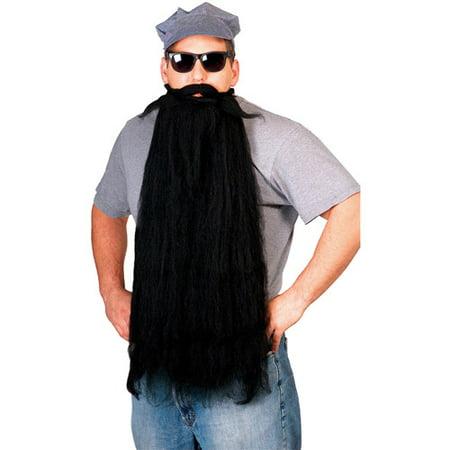 Mohair Beard Adult Halloween Accessory - Baby Eyes Grey Halloween Contact Lenses