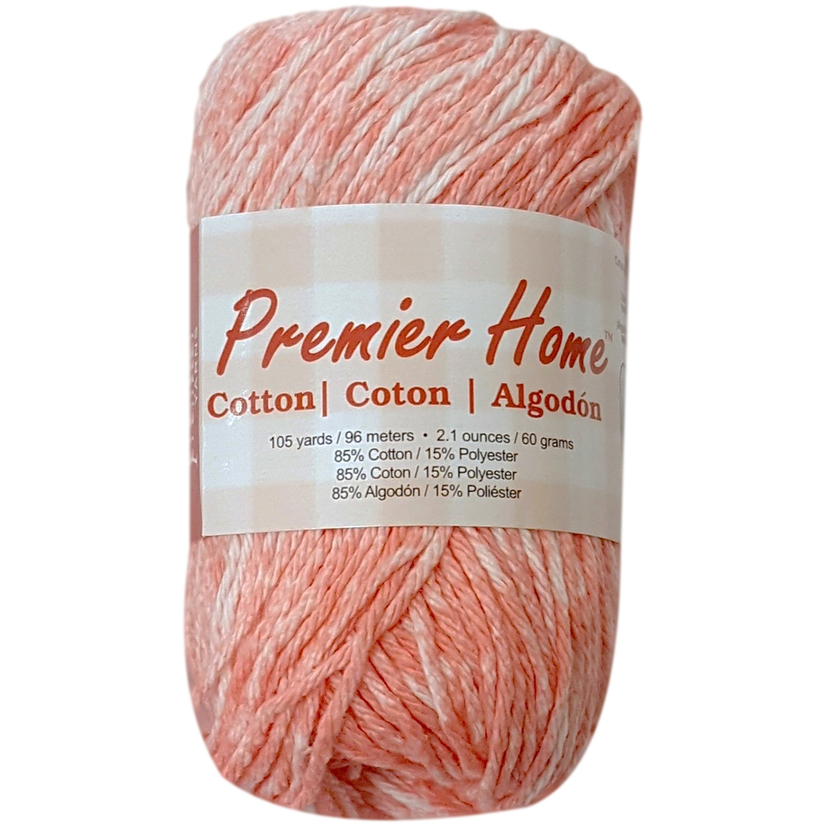 Home Cotton Yarn - Multi-Coral Splash