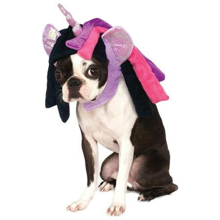 My Little Pony Twilight Sparkle Pet Dog Cat Costume Hood-M-L (Halloween Costumes For My Cat)
