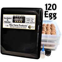 RITE FARM PRODUCTS PRO MASTER SERIES 120 CHICKEN EGG INCUBATOR & HATCHER TURNER