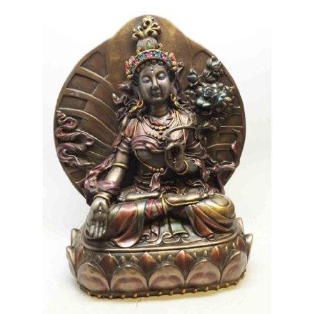 ARYA WHITE TARA TIBETAN BUDDHISM STATUE FEMALE BODHISATTVA FIGURINE
